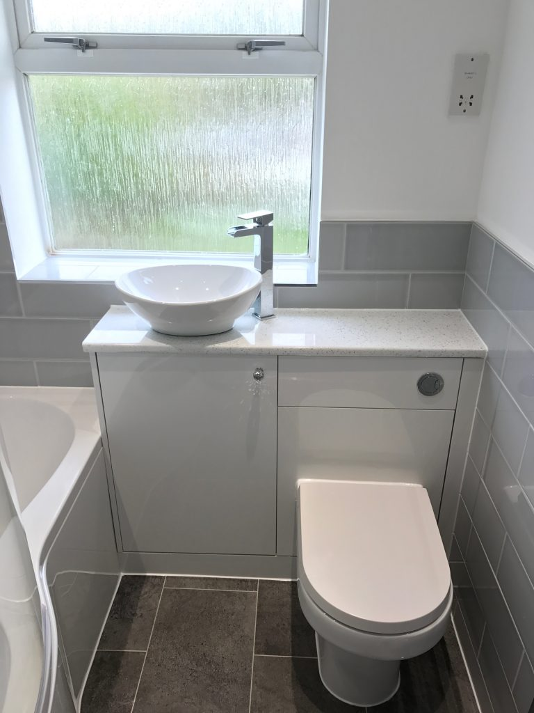 Bathroom Project Bedfordshire - TNM Property Services0587