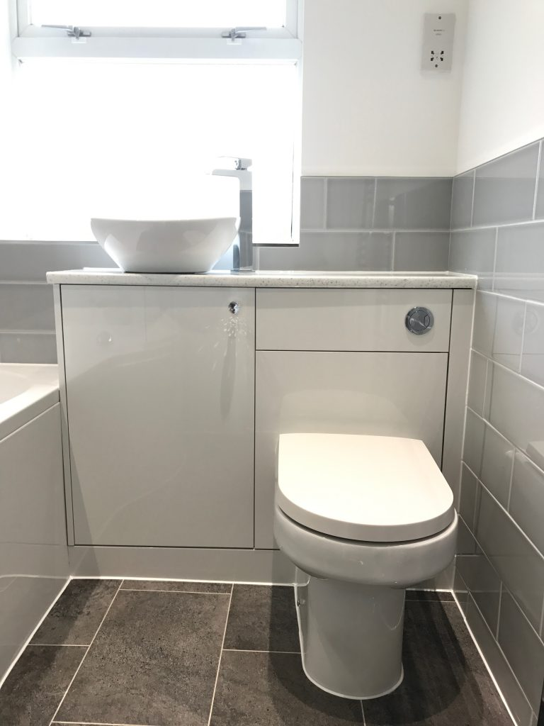 Bathroom Project Bedfordshire - TNM Property Services0590