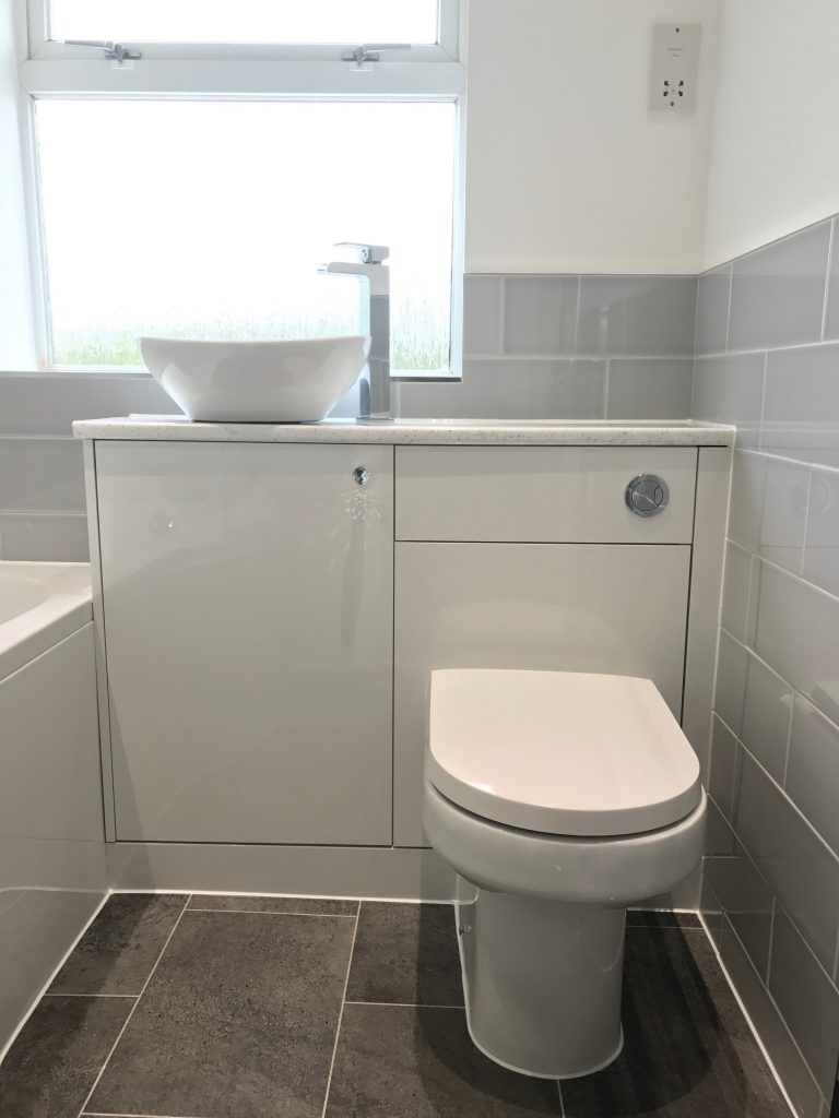 Bathroom Project Bedfordshire - TNM Property Services0591