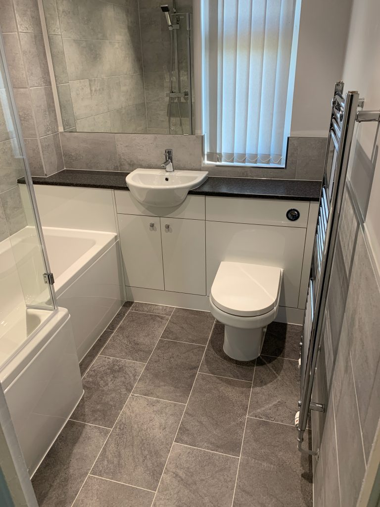 Bathroom Project Sandy Bedfordshire - 1716