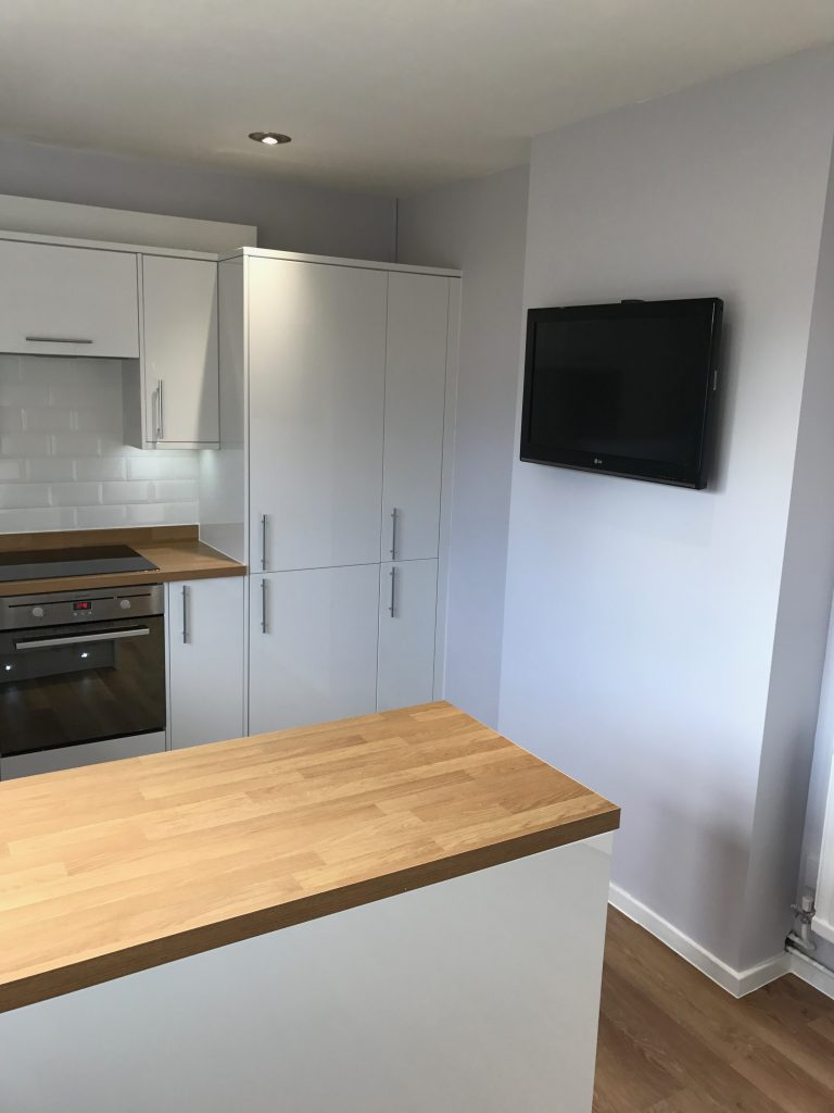 Kitchen Project Bedfordshire - TNM Property Services