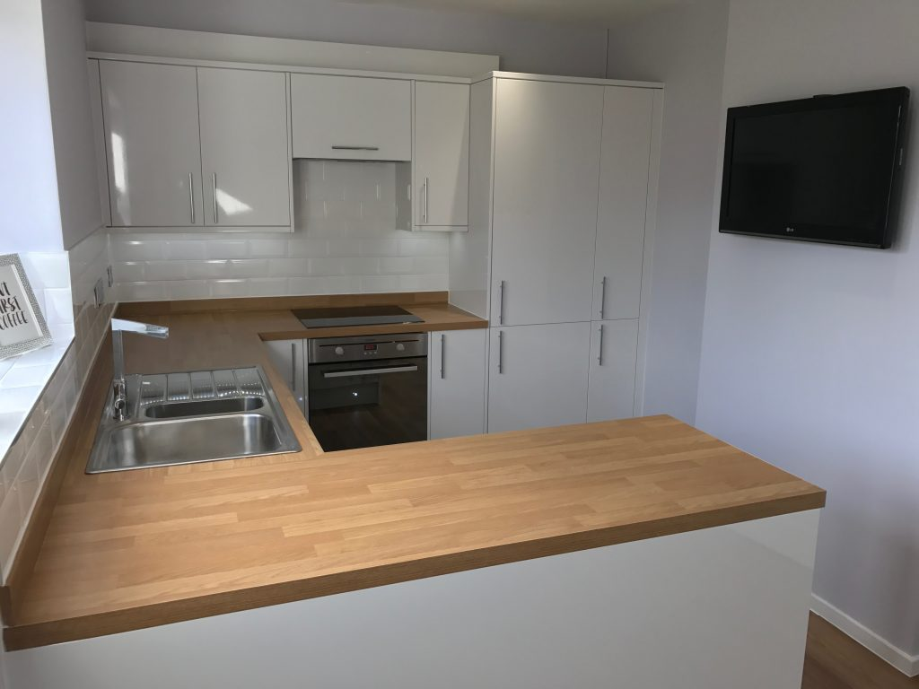 Kitchen Project Bedfordshire - TNM Property Services0674