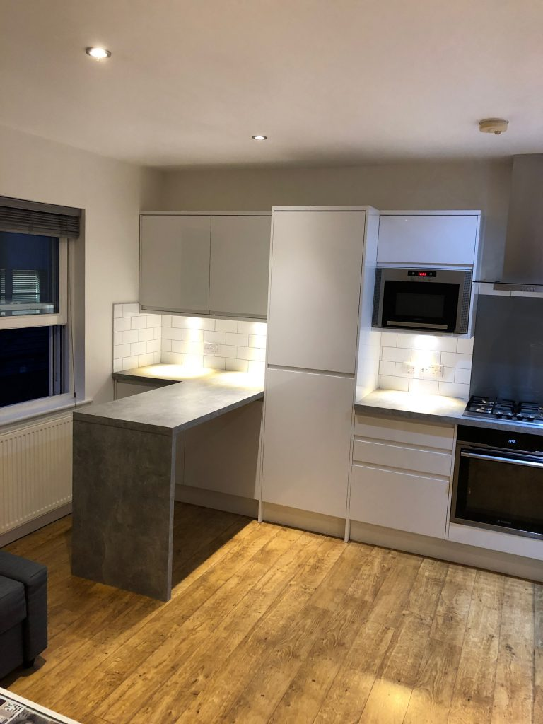 Kitchen Project Bedfordshire - TNM Property Services2312