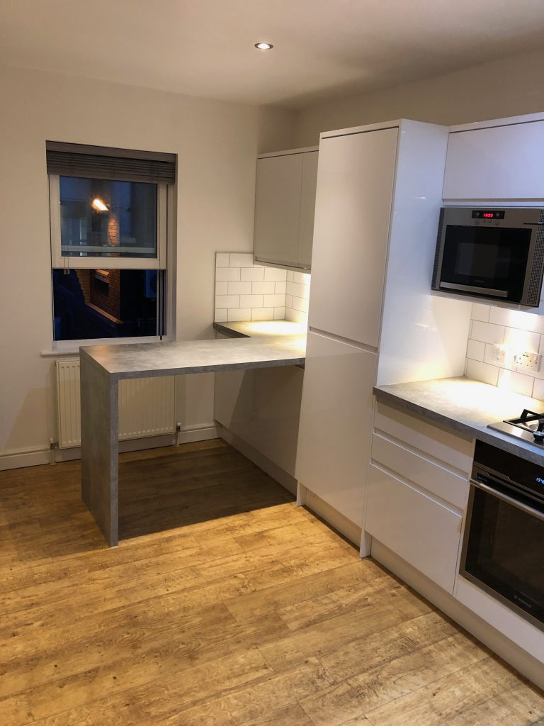 Kitchen Project Bedfordshire - TNM Property Services2314